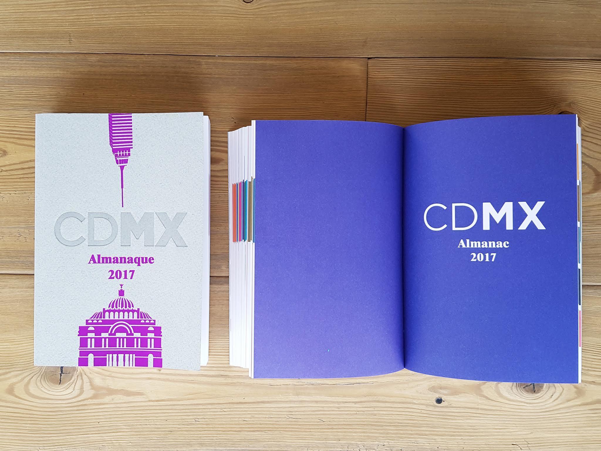 El Almanaque de la CDMX editado por Time Out México