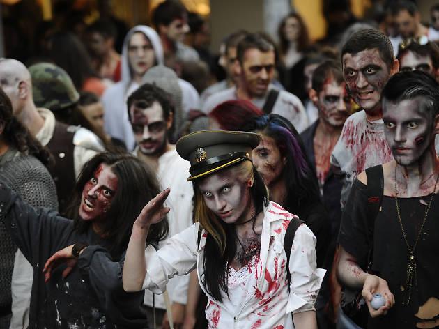 Tel Aviv Zombie Walk 2017