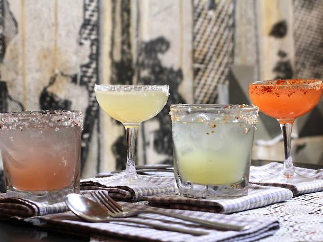 Cookie margarita cocktails