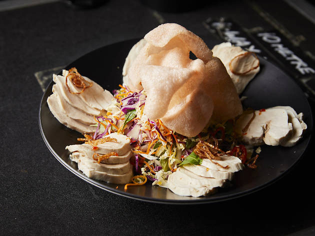 Poached chicken slaw by Jerry Mai