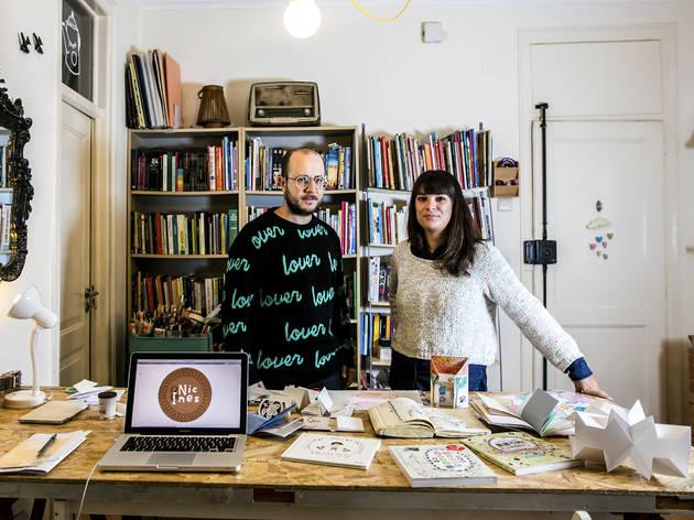 Nic & Inês  (Fotografia: Arlindo Camacho)