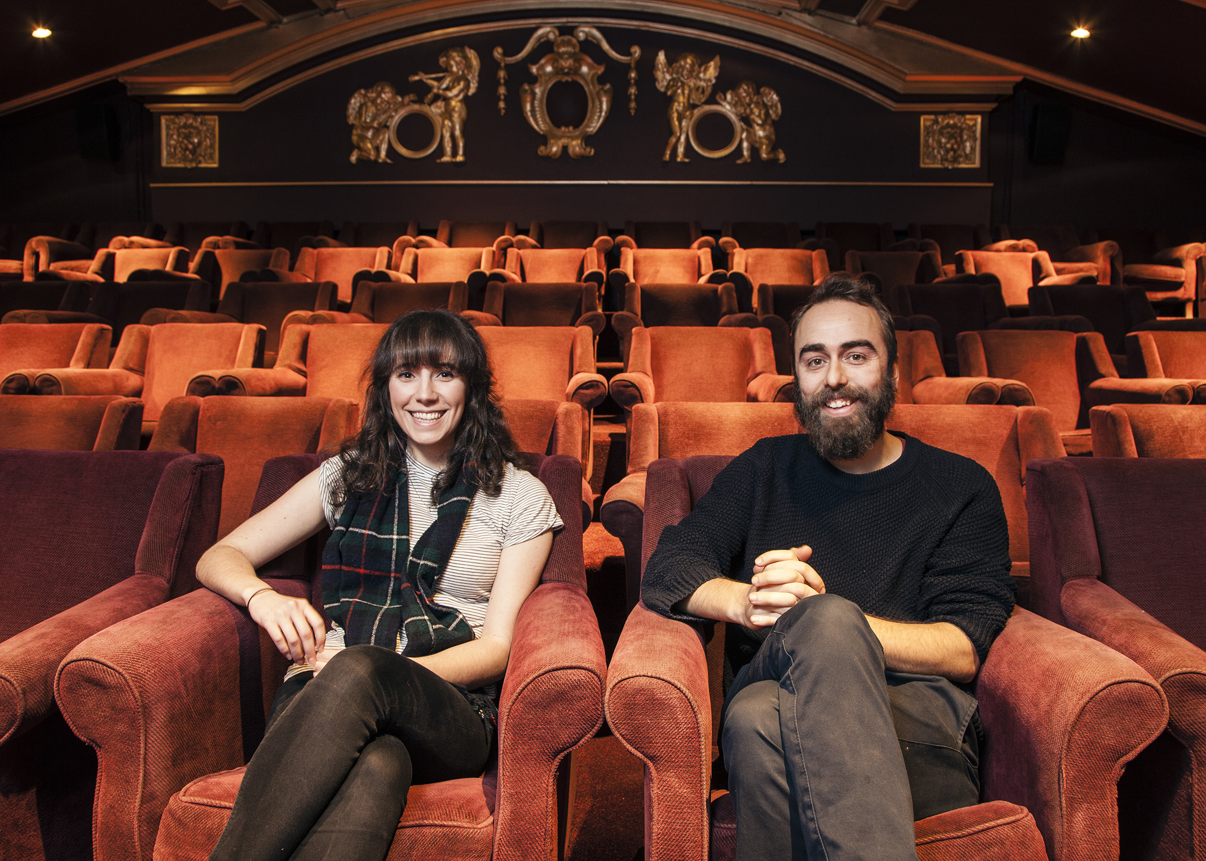 This couple have renovated an old cinema in Clapton after a £57k crowdfunding campaign