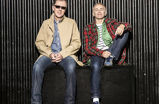 Karl Hyde and Rick Smith from Underworld