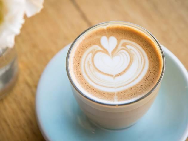 Coffee at Harry's Cafe Bondi