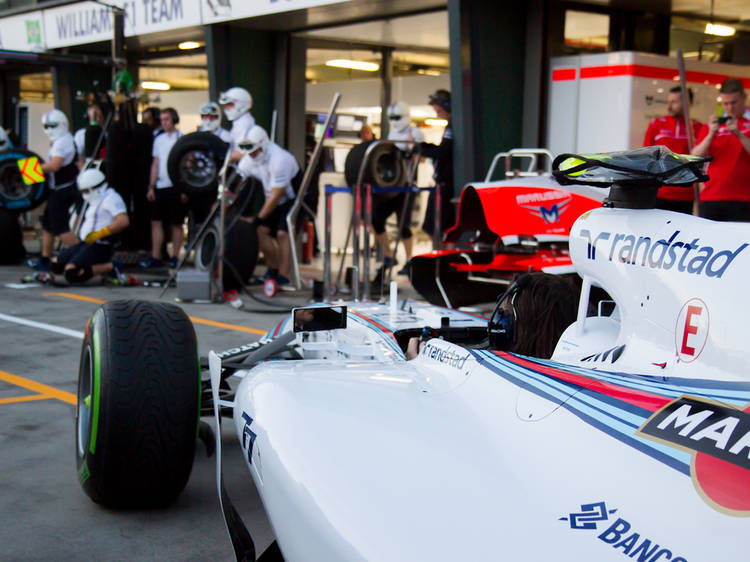 Get amongst the Formula 1 Australian Grand Prix