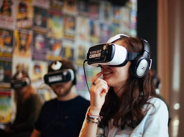 VR pop-up cinema in KL