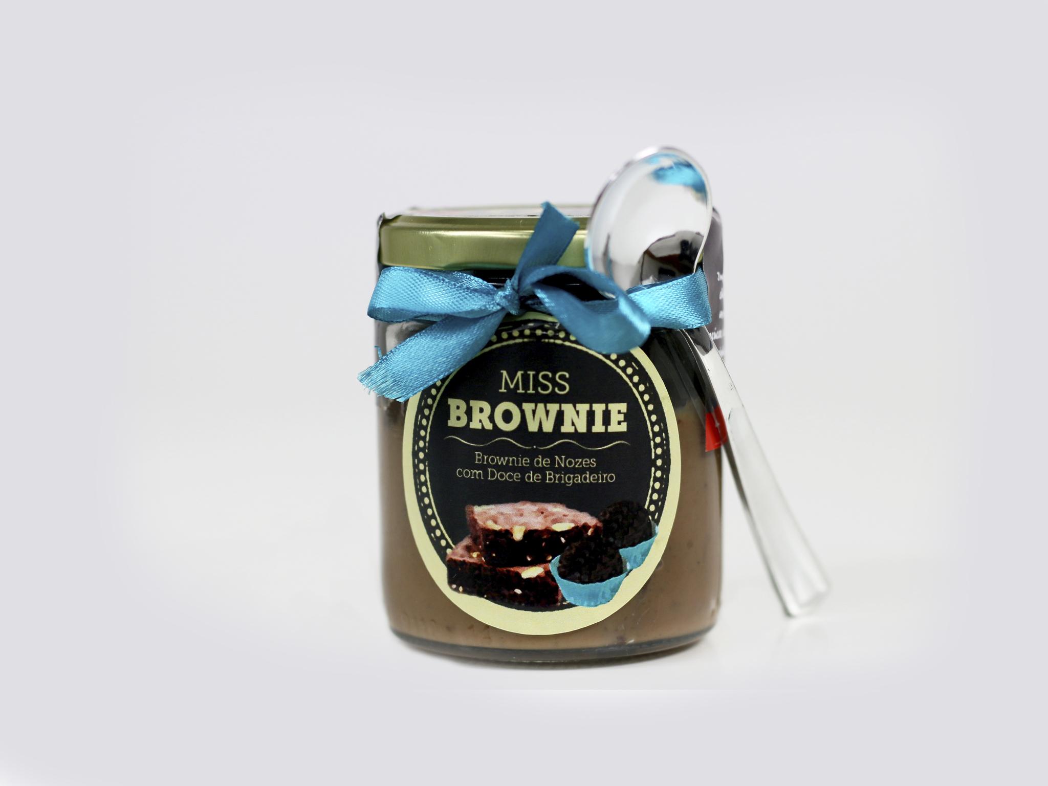 Uma receita de brownies da Miss