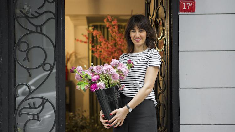 Çiçek tasarımcısı