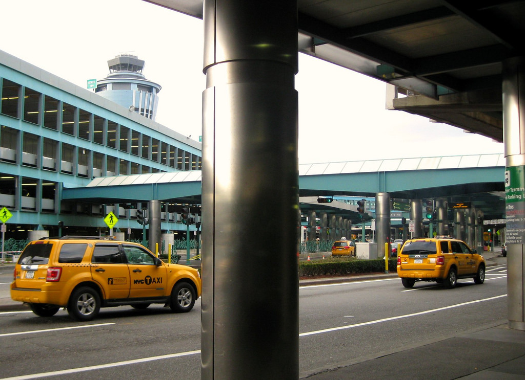 There could soon be an additional fee to take a taxi to the airport