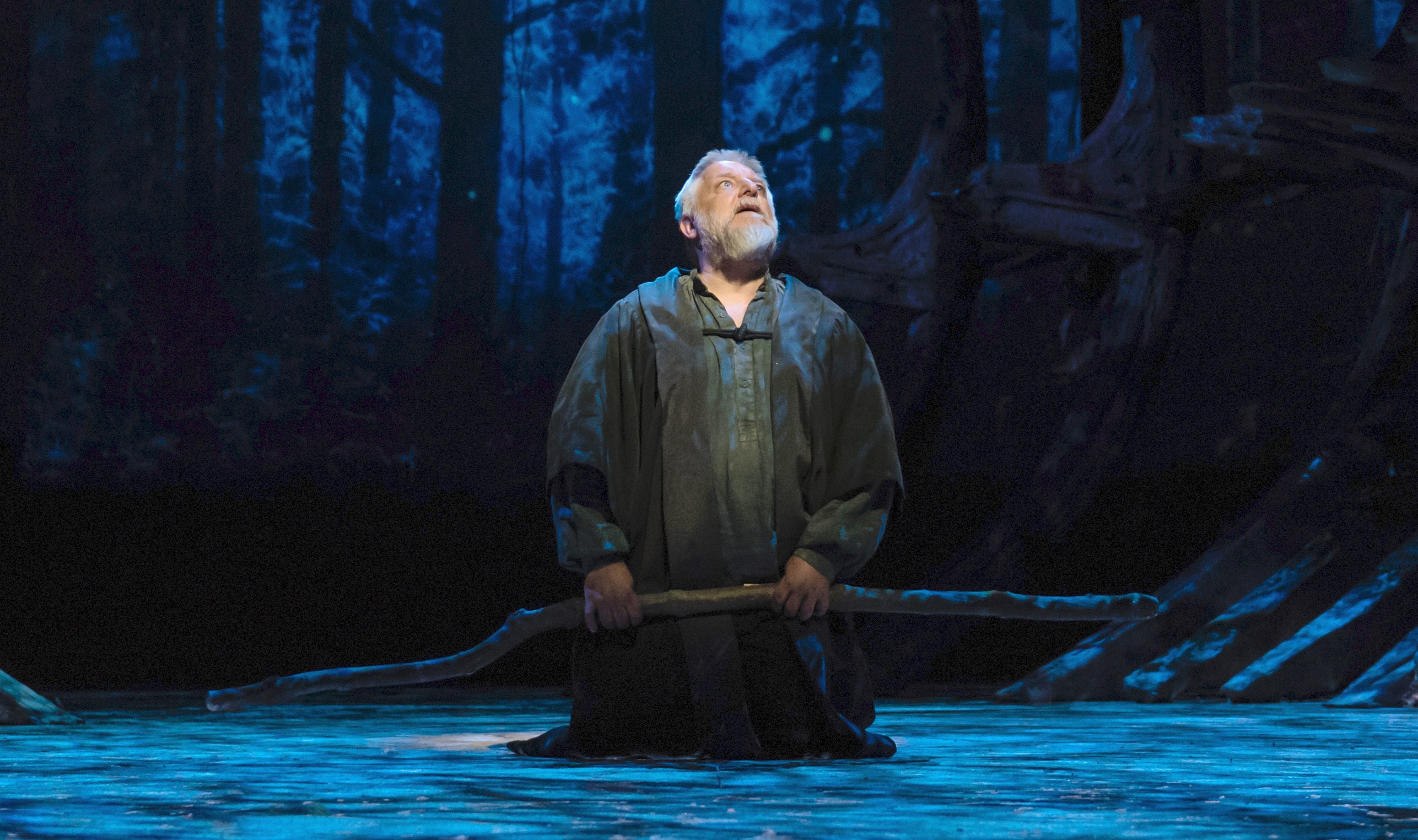 See Simon Russell Beale as Prospero in hi def at your local movie theater