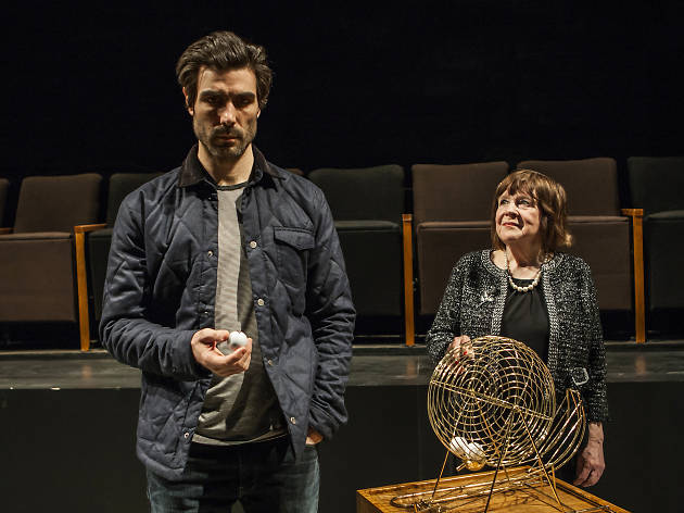 Theater review: Everybody gives a medieval morality tale a few modern twists