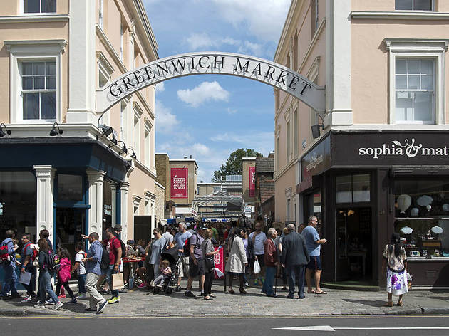 Greenwich Hospital, Estates, Greenwich Market