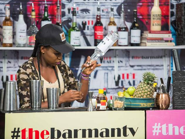 Launch of the Barman TV reality show