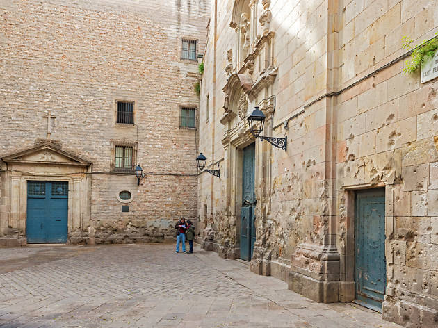 Plaça de Sant Felip Neri de Barcelona