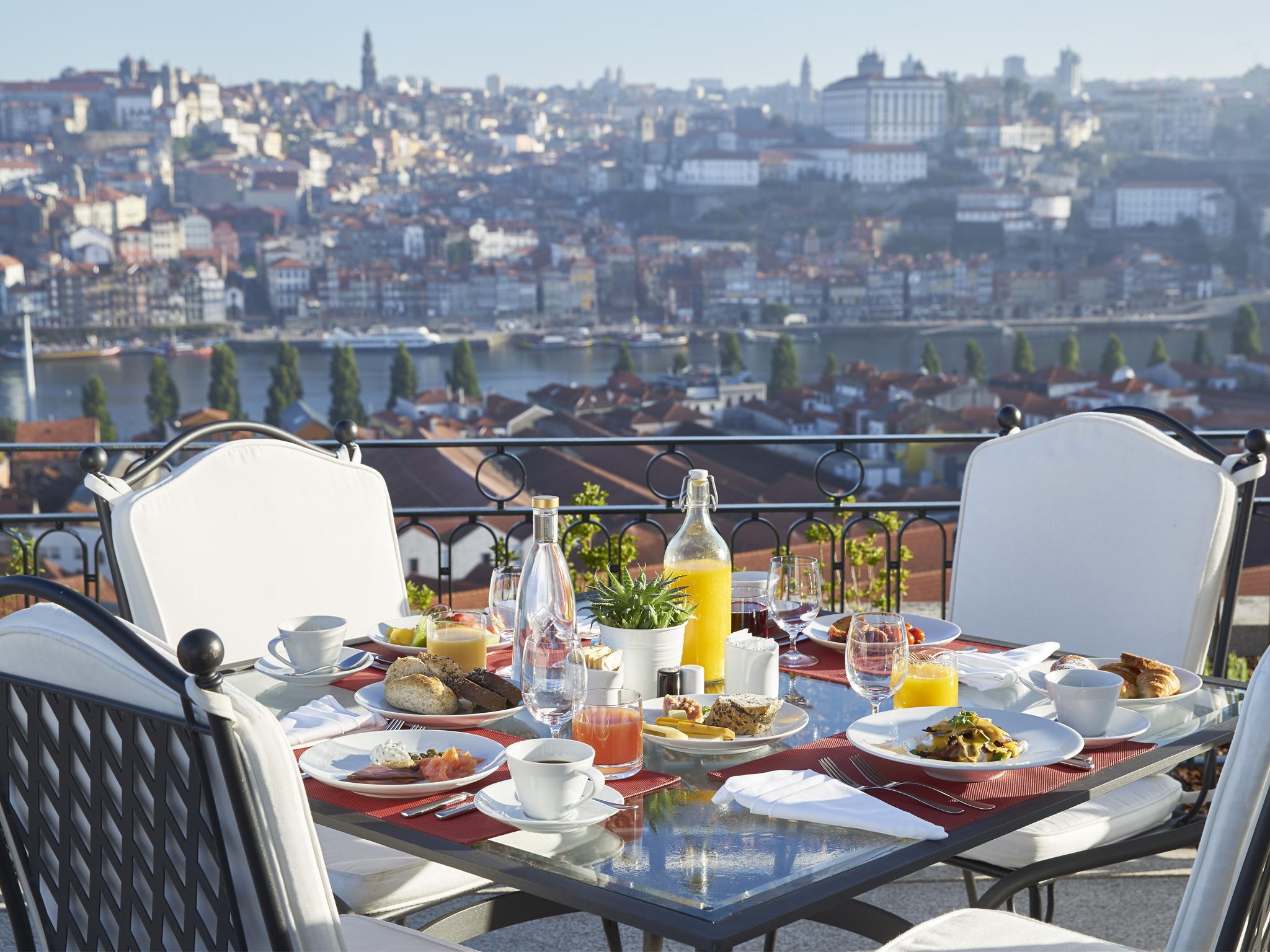 Os melhores hotéis no Porto