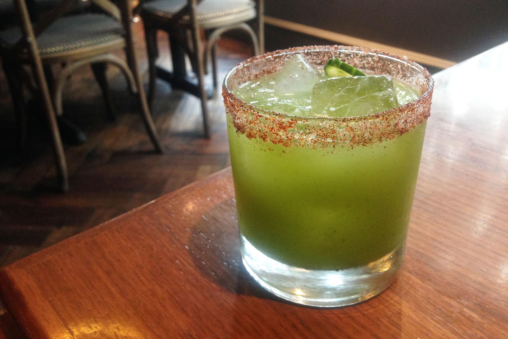 Margarita Verde at Water Grill