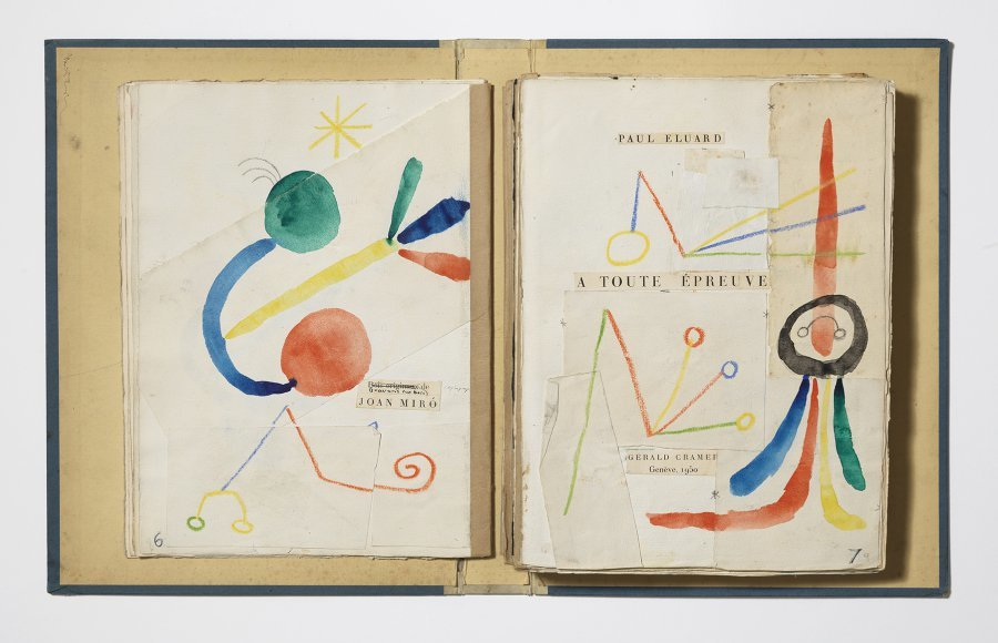 Éluard, Cramer, Miró. 'À toute épreuve', més que un llibre