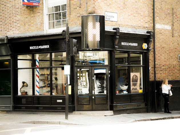 Huckle the barber shoreditch health and beauty in for Hair salon shoreditch