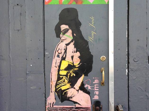 Amy Winehouse Street Art Trail