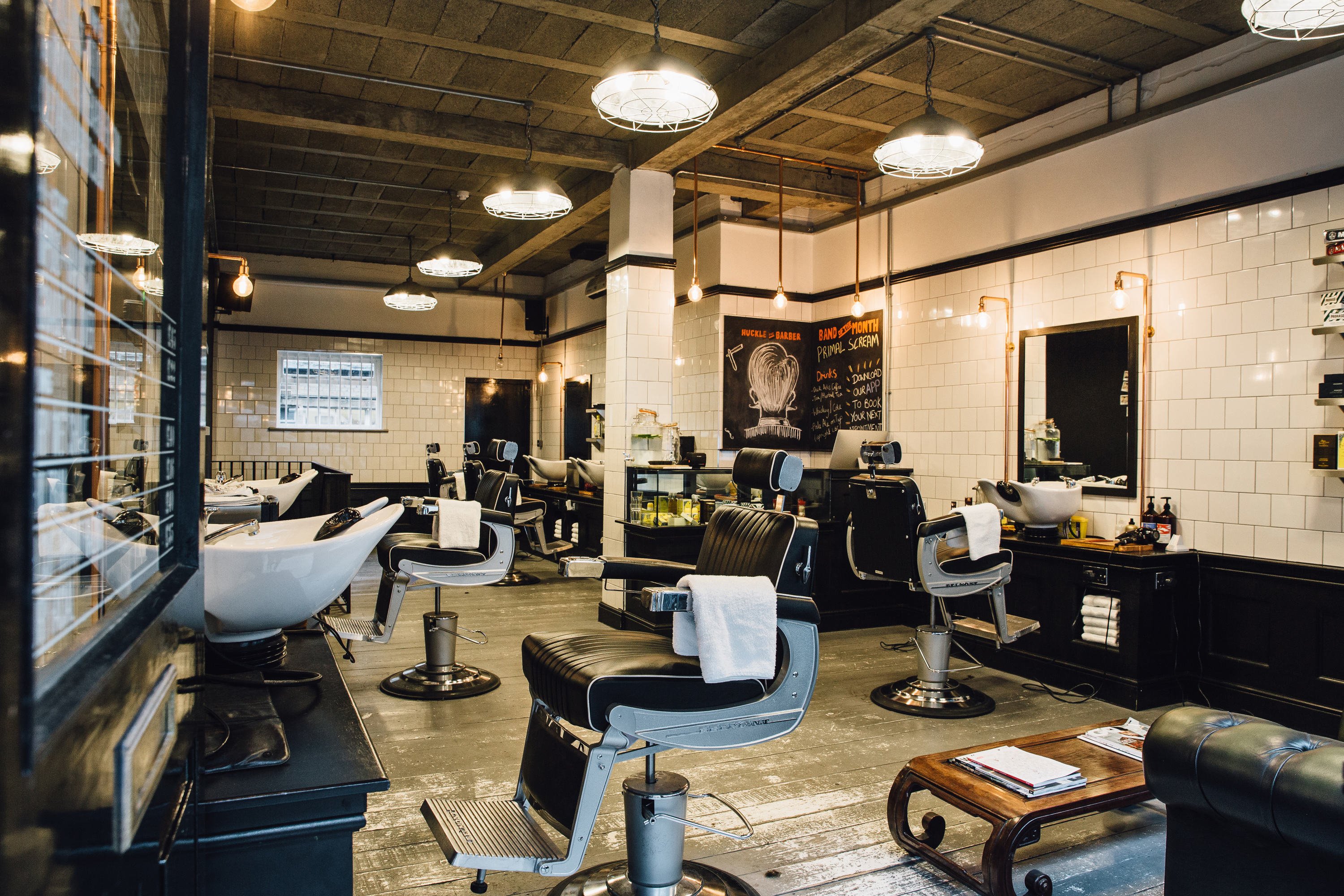 Huckle the Barber, London // www.samdocker.co.uk