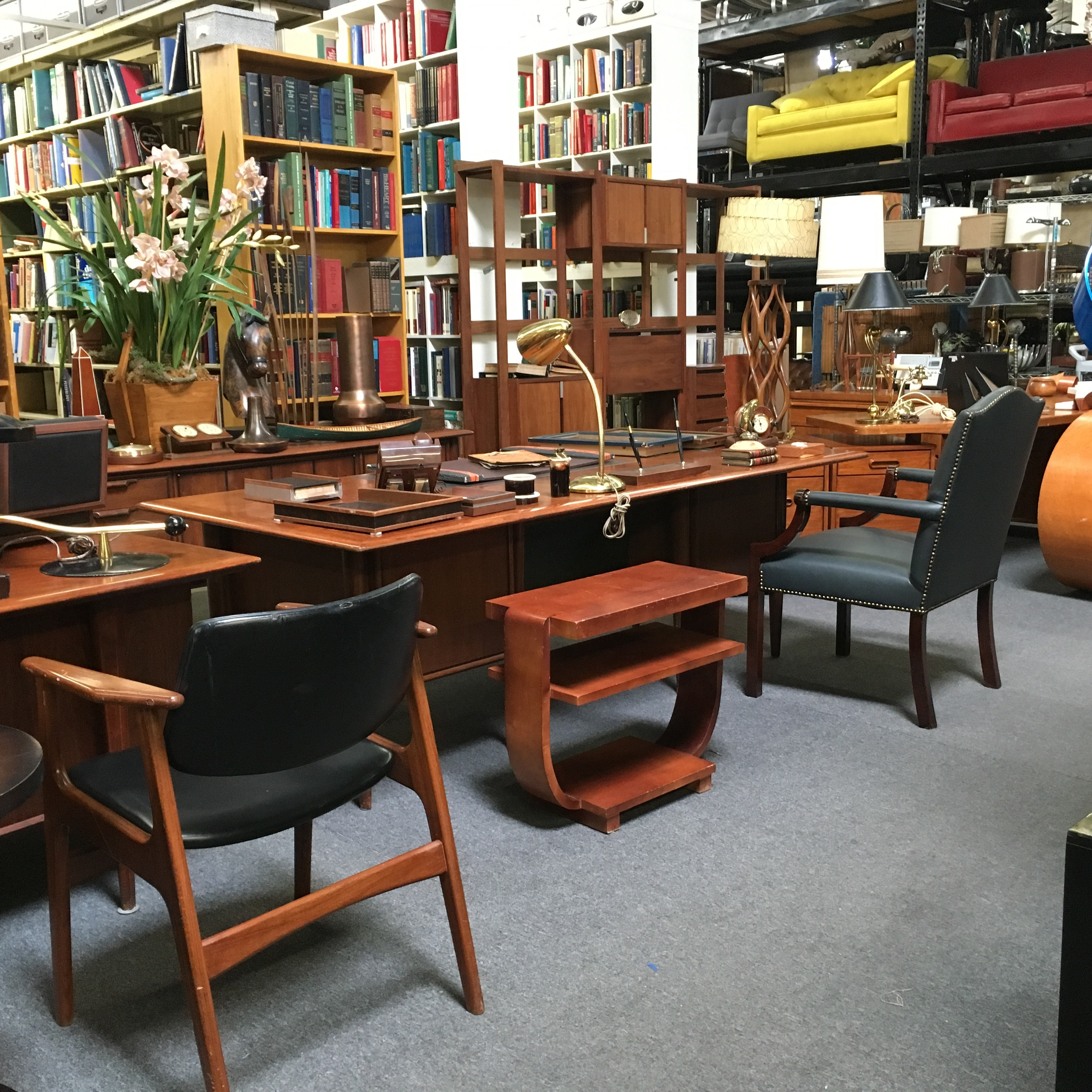 Faux Library