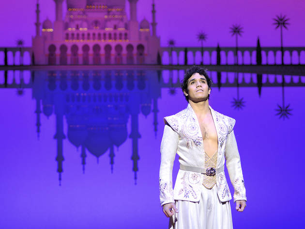 Adam Jacobs returns to the role of 'Aladdin'