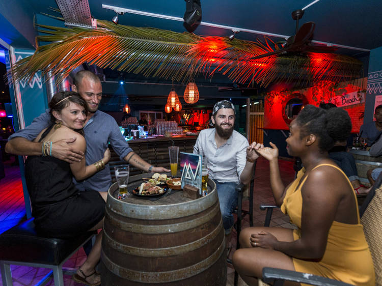 Experience the colourful local nightlife scene