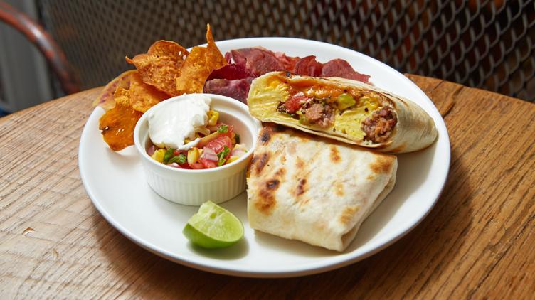 Breakfast Burrito at Luka