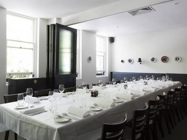Bottega dining room