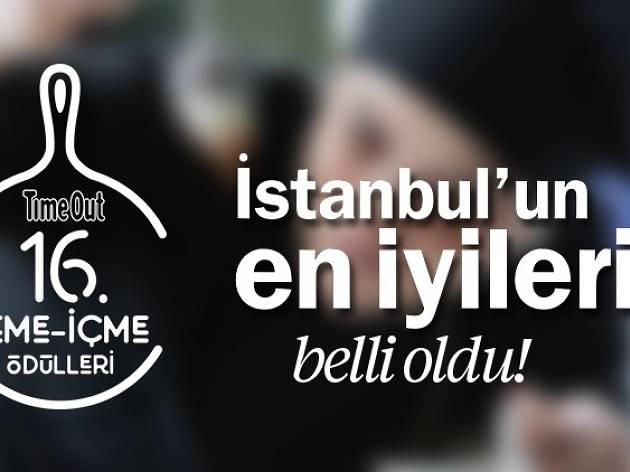 16. Time Out İstanbul Yeme-İçme Ödülleri Sonuçları