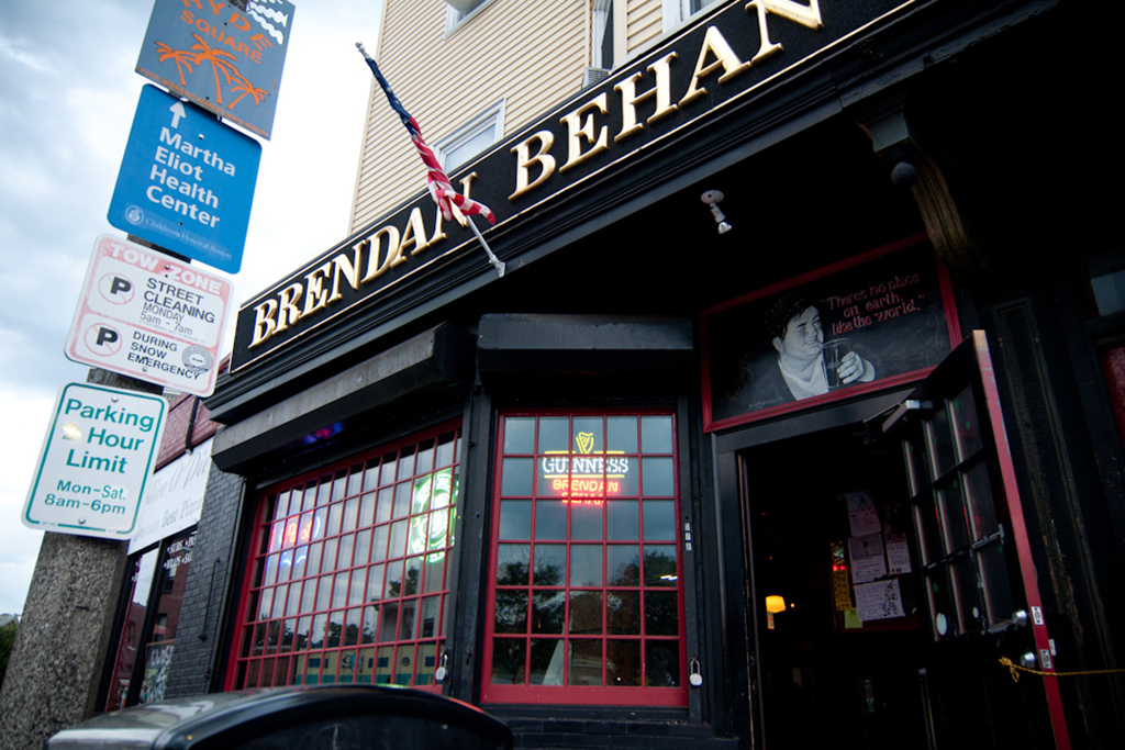 Drinks at Brendan Behan Pub