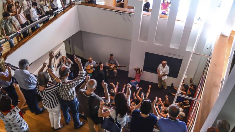 Visitas cantadas no museu do fado