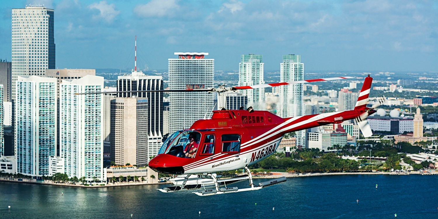 Miami Helicopter Ride