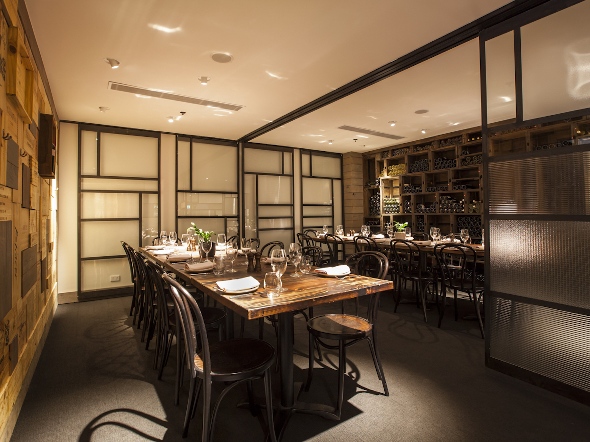 Restaurants with private dining rooms melbourne