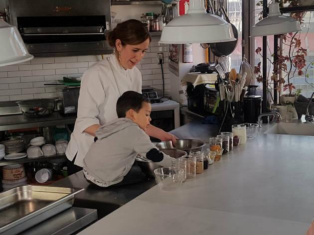 La lonchera del chef: Alejandra Coppel y Santiago