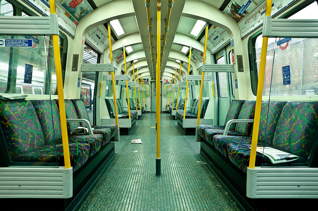 The seats on seven London Underground lines are never washed