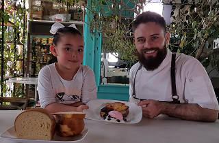 Diego Niño en La lonchera del chef