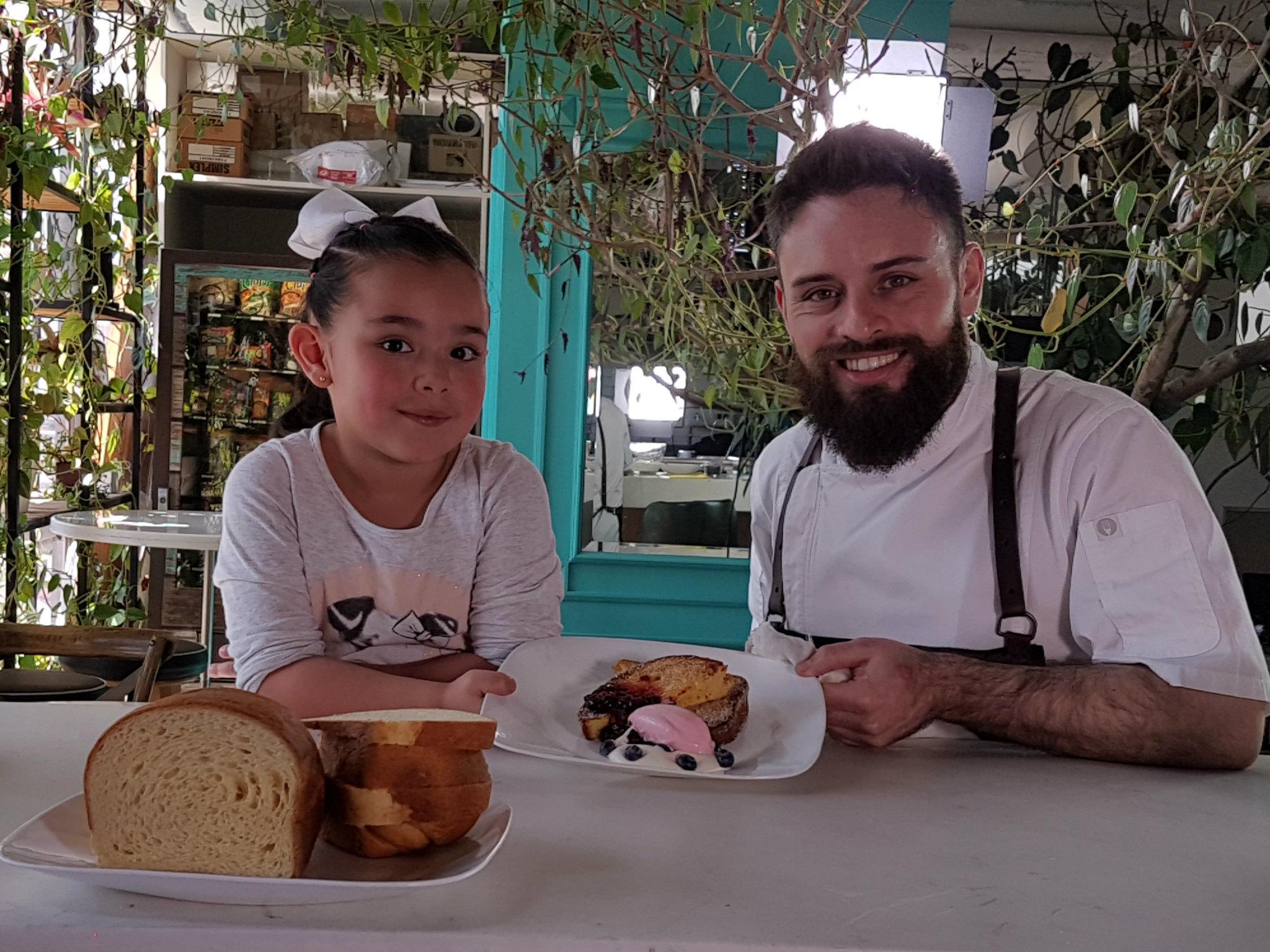 La lonchera del chef: Diego Niño y Cristina