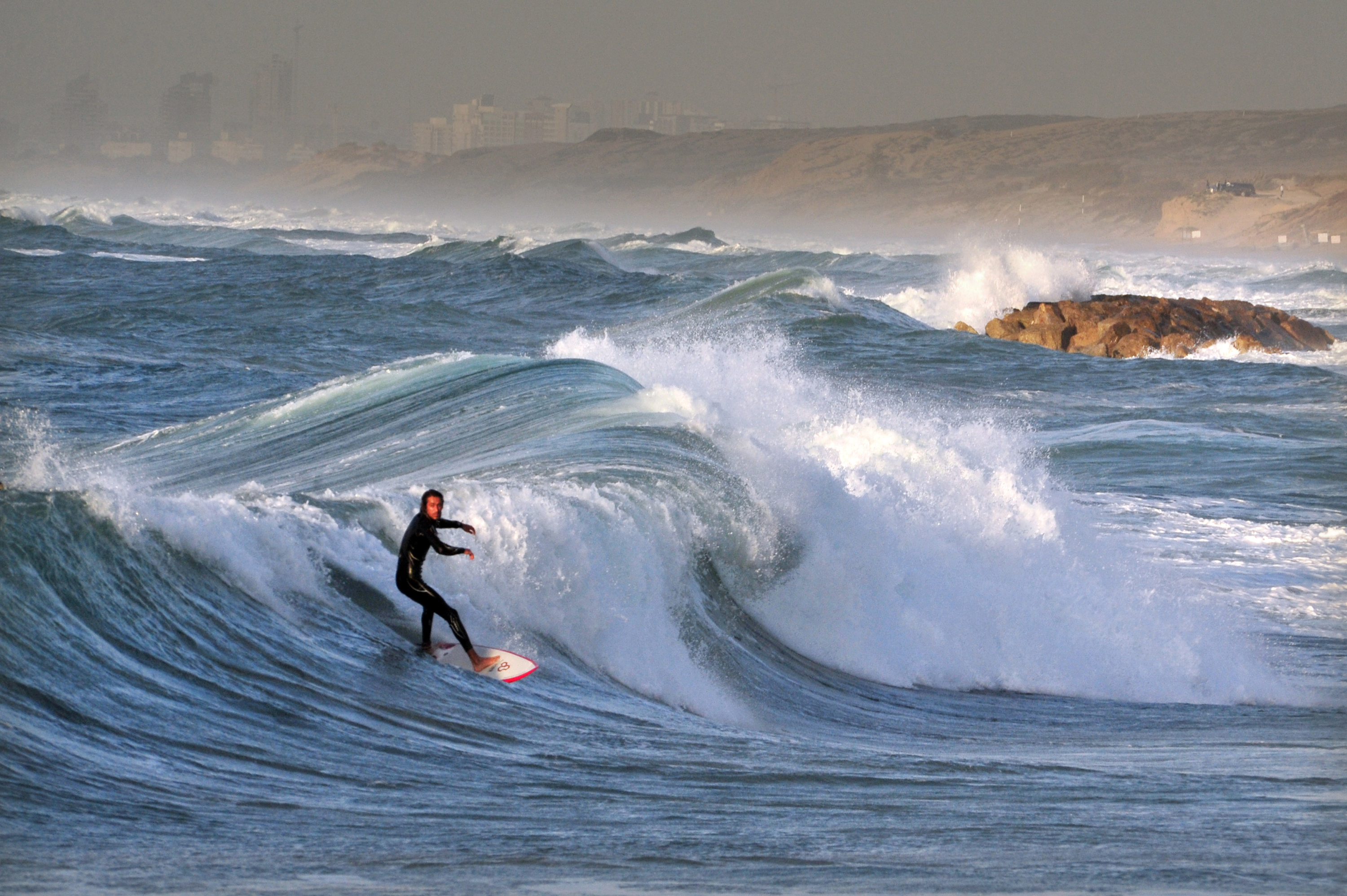 The top five beaches in Israel for surfing