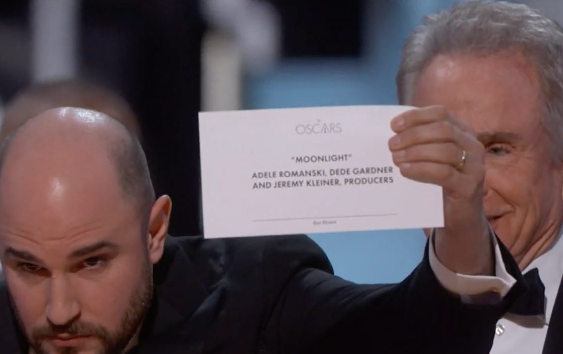 Eleven crazy moments from the 2017 Oscars everyone will be talking about