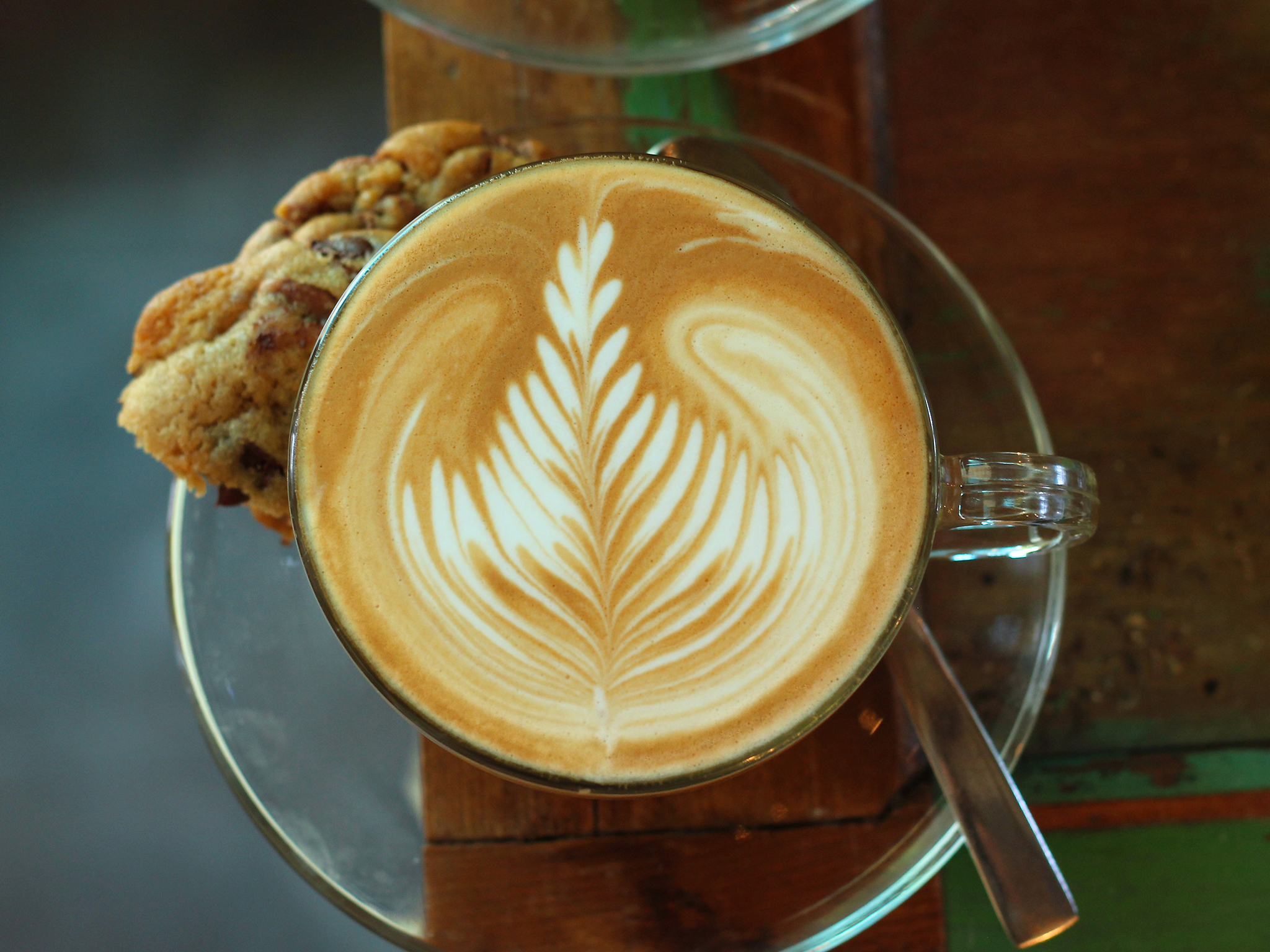 Israeli breakfast, cafés, and coffee kiosks to start the morning