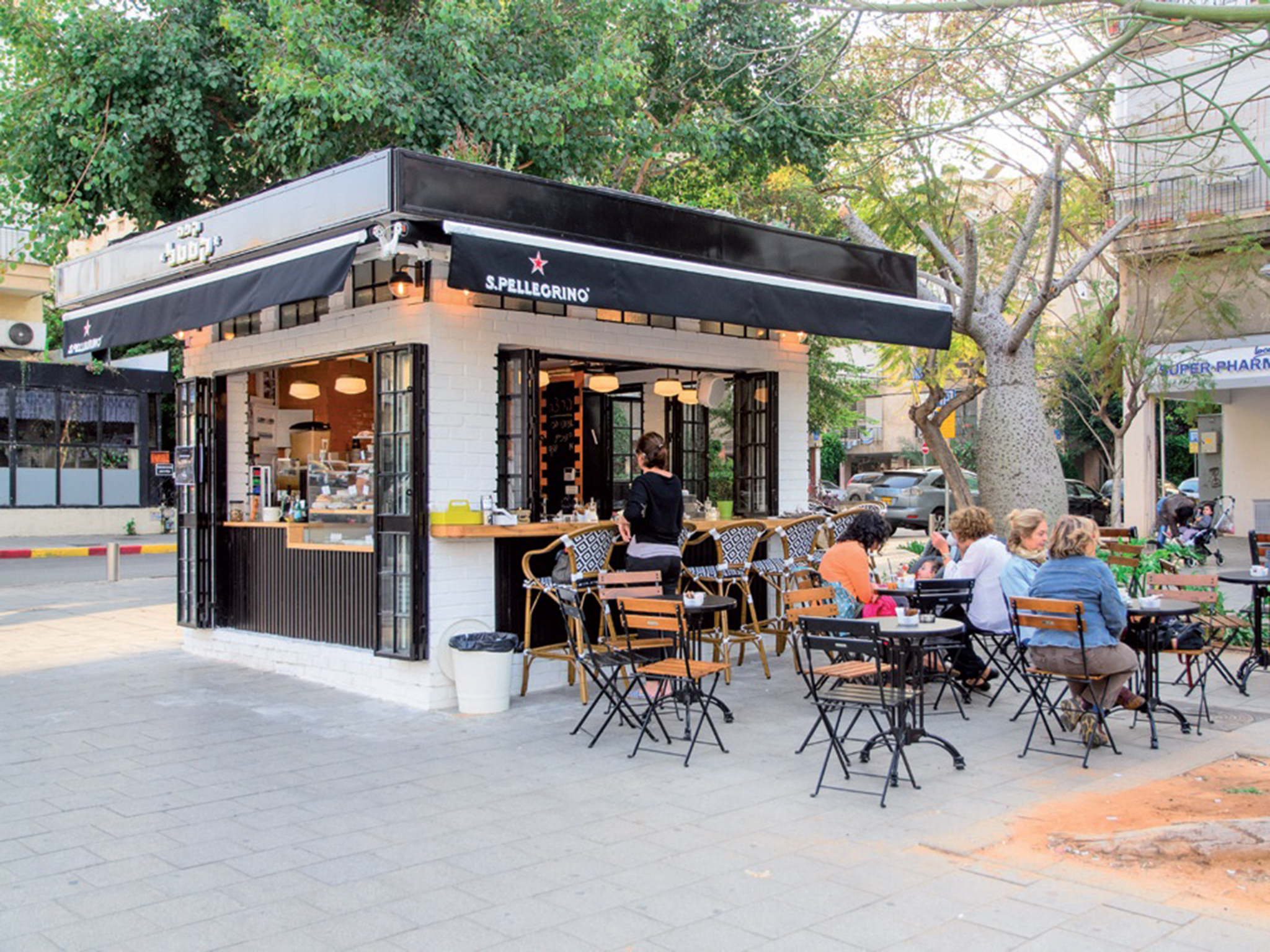 The 5 most buzzing coffee kiosks in Tel Aviv