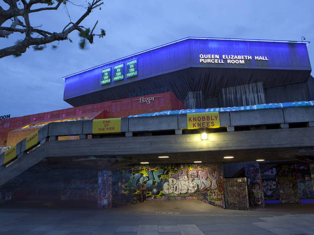 Five things you probably didn't know about the Queen Elizabeth Hall