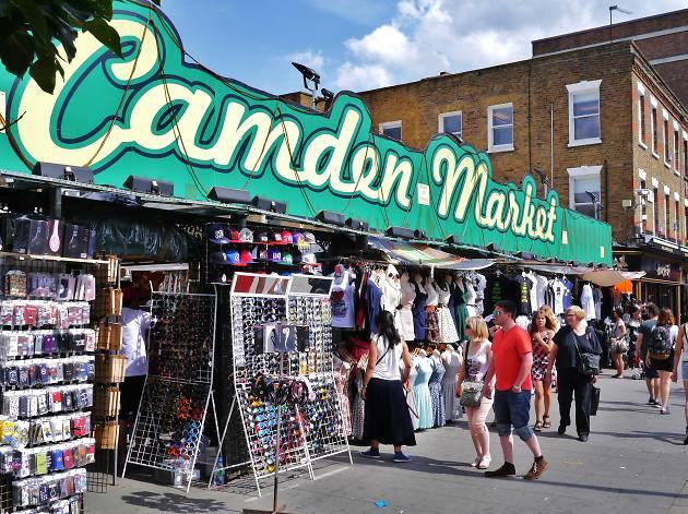 St Patrick's Day at Camden Market