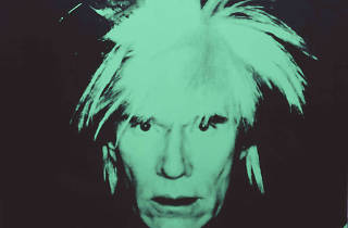 """Andy Warhol: Self Portraits (Fright Wigs)"""