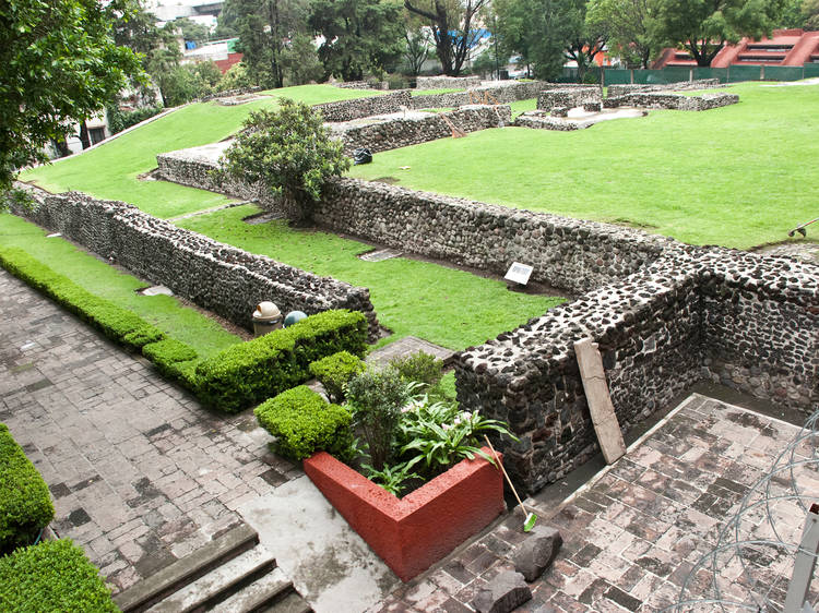Zona Arqueológica de Mixcoac