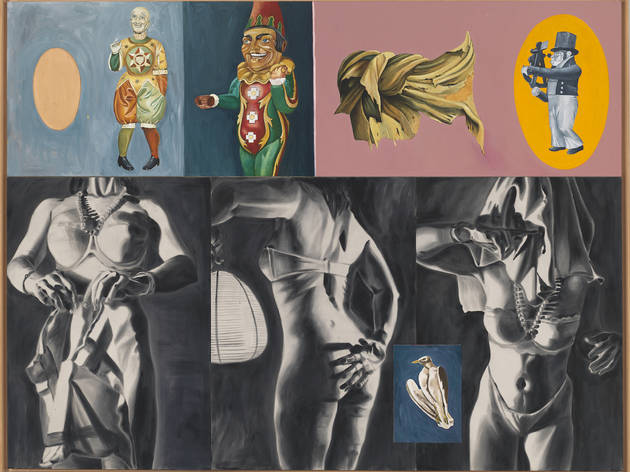 """Review: """"Fast Forward: Paintings from the 1980s"""""""