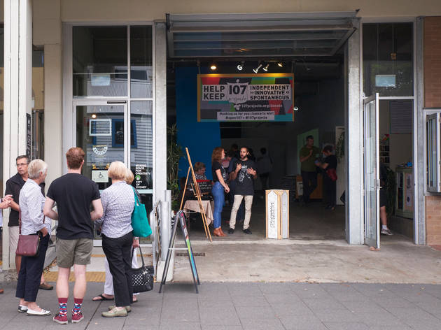 107 Projects 2015 exterior daylight March 21 2015 photograph (c) Time Out Sydney photographer credit Kit Baker
