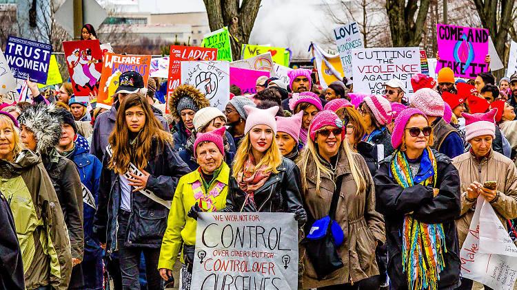 Women's strike details