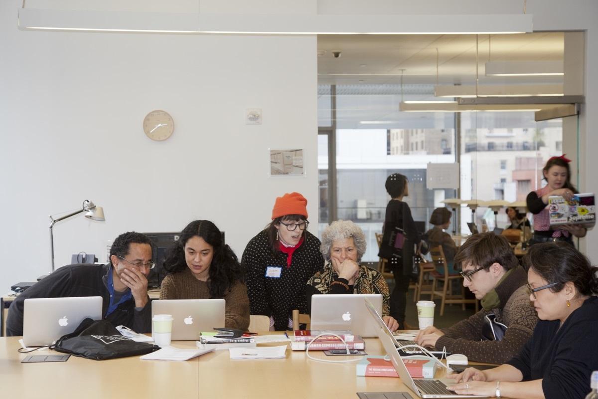 Wikipedia Edit-a-Thon: Art + Feminism